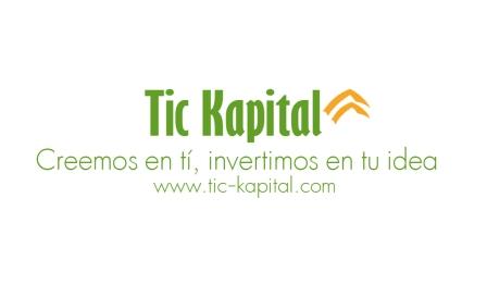 Tic Kapital, capital semilla, ayuda a emprendedores, contacto, diseño tarjeta