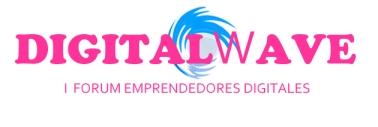 Logotipo Digital Wave, primer forum de emprendedores digitales, sevilla