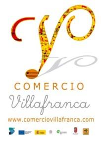 Logo comerciantes de Villafranca de los Barros, comercio, Asociación logo Villafranca