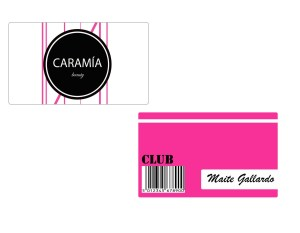 tarjeta amiga, Caramia, proyecto, tienda cosméticos, outlet, Caramia club, maquillaje barato, imagen corporativa