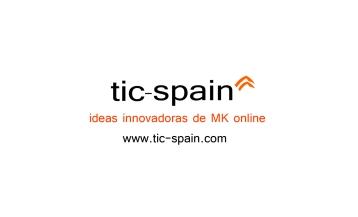 Tarjeta de visita Tic Spain, ideas innovadoras de marketing online, Madrid, Sao Paolo, Buenos Aires, Tic Spain Latam
