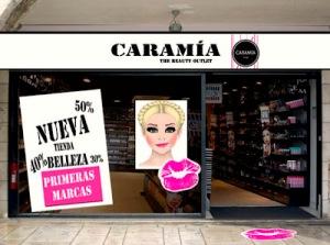 nueva, primeras marcas, imagen tienda, sevilla centro, caramia, labios, promociones, descuentos maquillaje